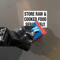 ToughWash® Labels - Seperate Raw & Cooked Food