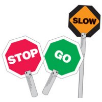 Traffic Control Paddles