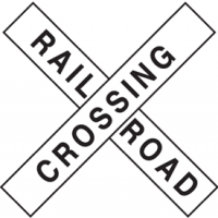 Traffic Signs - Railroad Crossing