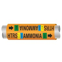 Ultra-Mark® Ammonia Pipe Markers - Hi Temp Recirc Suction