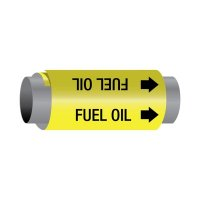 Ultra-Mark® Snap-Around High Performance Pipe Markers - Fuel Oil