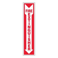 Ultra-Stick Signs - Fire Extinguisher