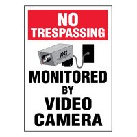 Ultra-Stick Signs - No Trespassing