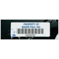 Vinyl Bar Code Labels