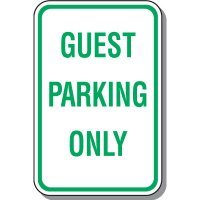 Visitor Parking Signs - Guest Parking Only