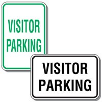 Visitor Parking Signs - Visitor Parking