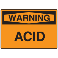 Warning Signs - Warning Acid