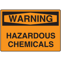Warning Signs - Warning Hazardous Chemicals