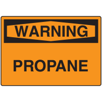 Warning Signs -Warning Propane