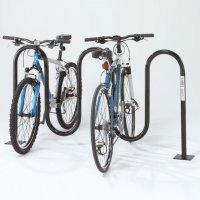 Wave Bicycle Racks - Below Grade Mount
