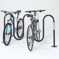 Wave Bicycle Racks - Flange Mount
