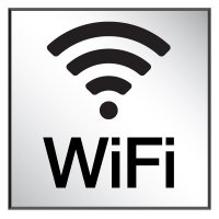 Wi-Fi - Engraved Wi-Fi Signs