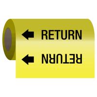 Wrap Around Adhesive Roll Markers - Return