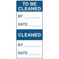 Write-On Action Labels - To Be Cleaned