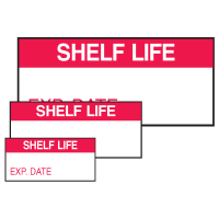 Shelf Life Exp. Date Self Laminating Labels