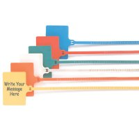 Write-On Tag Ties