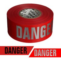 Presco Day Or Night Barricade Tape - Danger RB3103R21