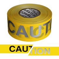 Presco Day Or Night Barricade Tape - Caution RB3103Y16