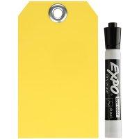 Dry Erase Plastic Tag