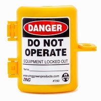 Zing® RecycLockout Forklift Propane Tank Lockout Tagout