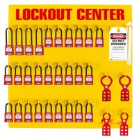 Zing® RecycLockout Lockout Station, 28 Padlocks