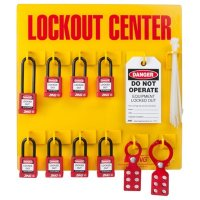 Zing® RecycLockout Lockout Station, 8 Padlocks