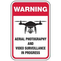 Warning: Aerial Surveillance in Progress