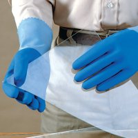 Mapa Blue-Grip Natural Rubber Gloves