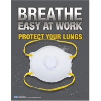 Respiratory Protection Safety Poster - Protect Your Lungs