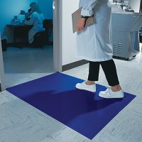 Wearwell Blue Clean Room Mat