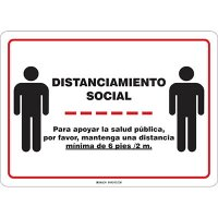 Distanciamiento Social Sign