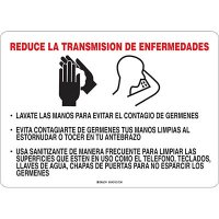 Reduce La Transmision De Enfermedades Sign