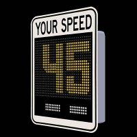 SafePace® EV15FM Radar Feedback Sign