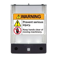 Seton Safety Sign Alerter Kit - Warning Keep Hands Clear
