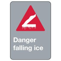 CSA Signs - Danger Falling Ice