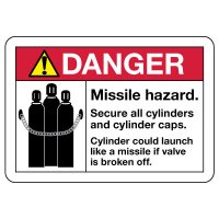 Danger Sign: Missile Hazard