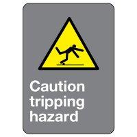 CSA Safety Sign - Caution Tripping Hazard