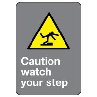CSA Safety Sign - Caution Watch Your Step