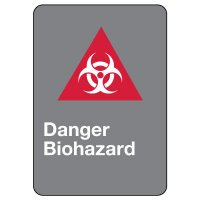 CSA Safety Sign - Danger Biohazard