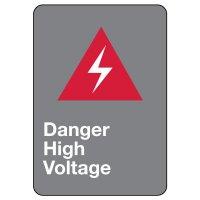 CSA Safety Sign - Danger High Voltage