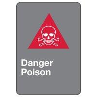 CSA Safety Sign - Danger Poison