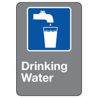 CSA Safety Sign - Drinking Water