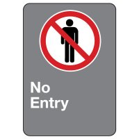 CSA Safety Sign - No Entry