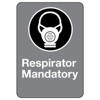 CSA Safety Sign - Respirator Mandatory