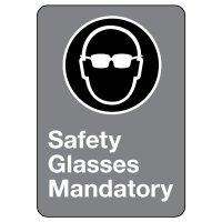 CSA Safety Sign - Safety Glasses Mandatory