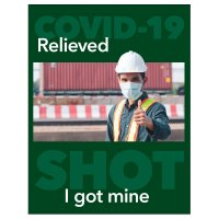 I Got My COVID-19 Shot Poster