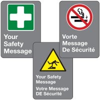 Custom CSA Safety Sign