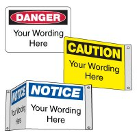 Semi-Custom Safety Signs
