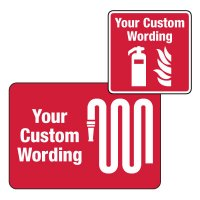 Custom Worded Fire & Emergency Signs
