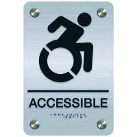Dynamic Accessibility Sign